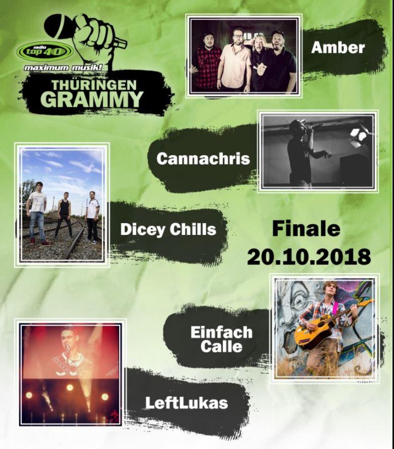 Wir sind dabei! AMBER live beim Thüringen Grammy2018